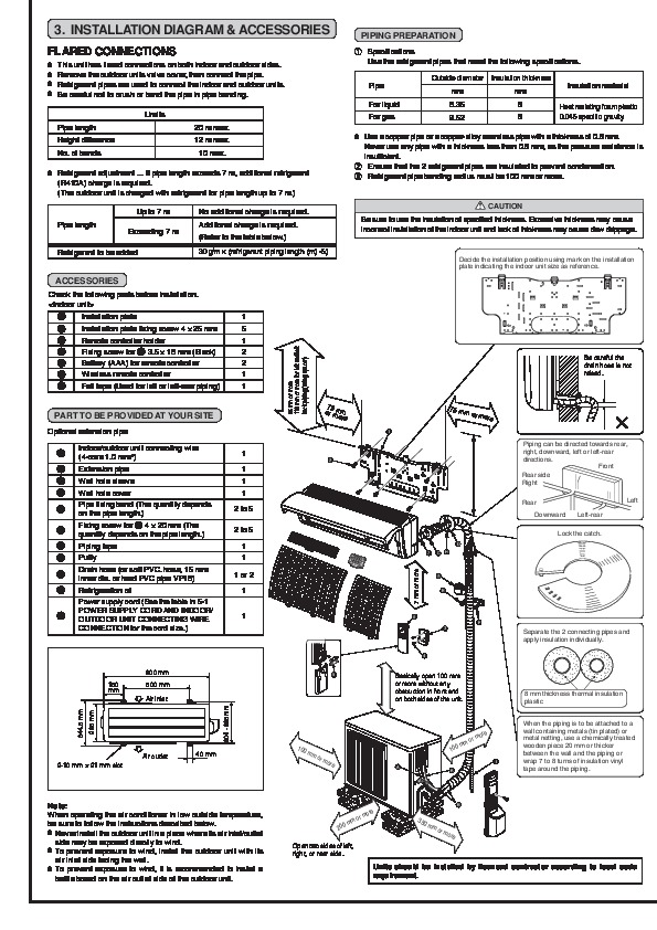 Mitsubishi MSZ FA25 FA35VA MUZ FA25 FA35VA Wall Air Conditioner Owners Installation Manual 2?resize=595%2C842&ssl=1 mitsubishi electric split type air conditioner service manual mitsubishi mr slim wiring diagram at n-0.co