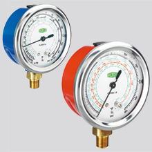 Refco GR Series Glycerin Filled Gauges