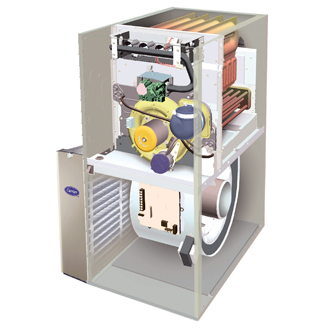 Condensate Drainage In A High Efficiency Gas Furnace