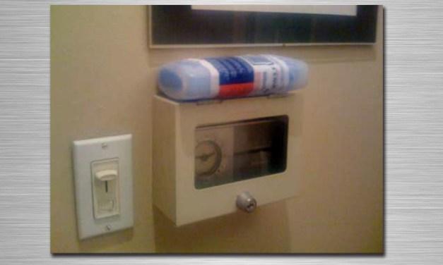 No lock can prevent the pursuit of indoor comfort