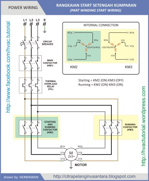 Part Winding Start | Hermawan's Blog (Refrigeration and Air Conditioning Systems)