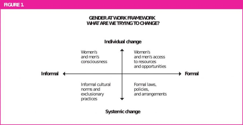 Gender at Work Framework for change