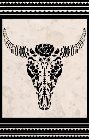 bullskull11by17poster