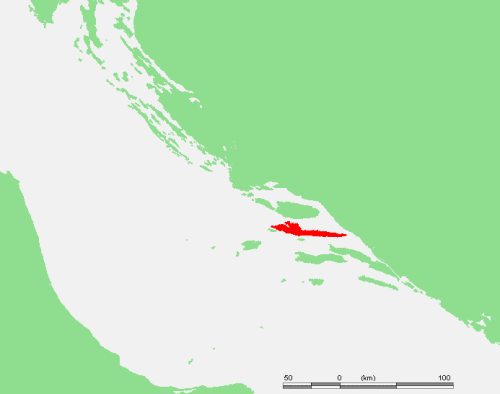 Ostrov Hvar – geografie