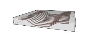 Angle-driven rebar shape