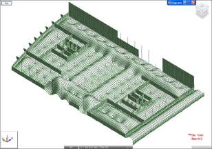 Barcode foundation slab water pressure deflection