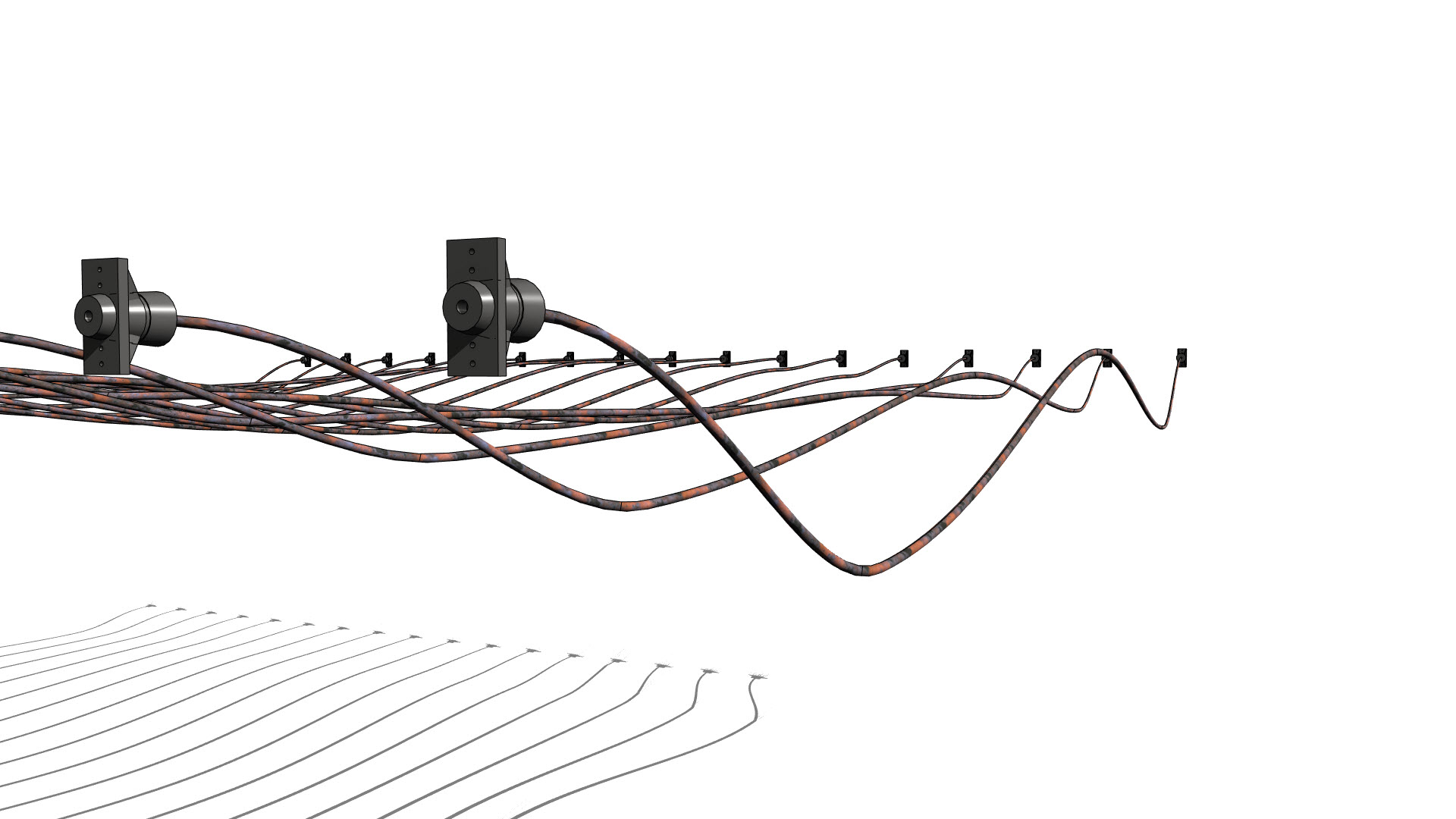 Post Tension Structures In Revit Continued 5 Point Bars