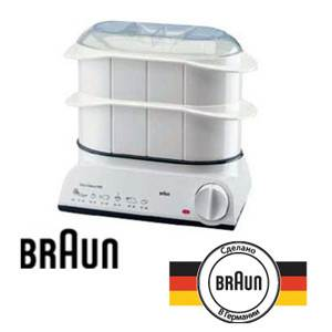 Электрическая-пароварка-Браун-Braun-FS-20-1