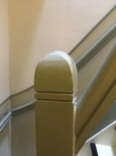 Voorbeeld trapleuning boventrap