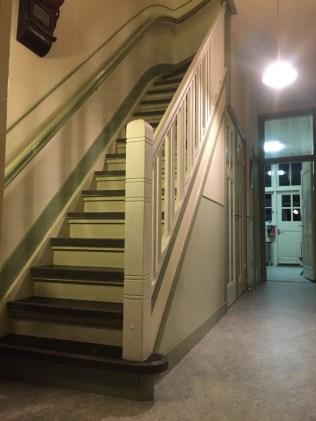 Nieuwe trapleuning