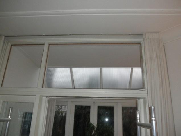 Verwijderen oude niet originele ramen