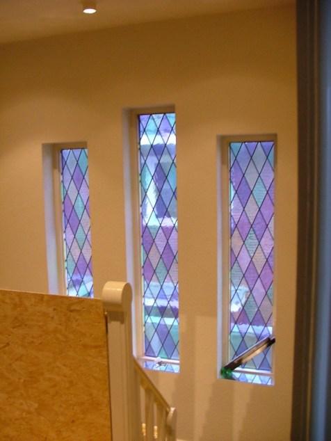 Trappenhuis oude ramen