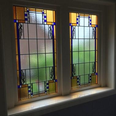 Na renovatie en plaatsing in dubbel glas