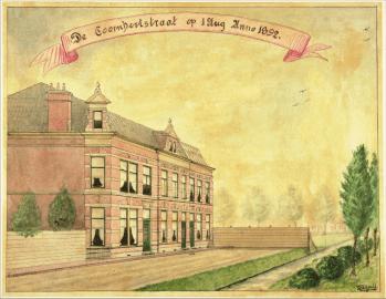 Aanzicht oude Coornhertstraat