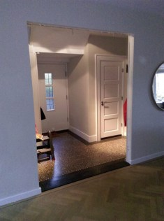 Oude binnendeuren uitgebouwd