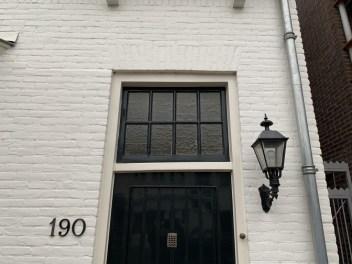 Oud bovenraam voordeur