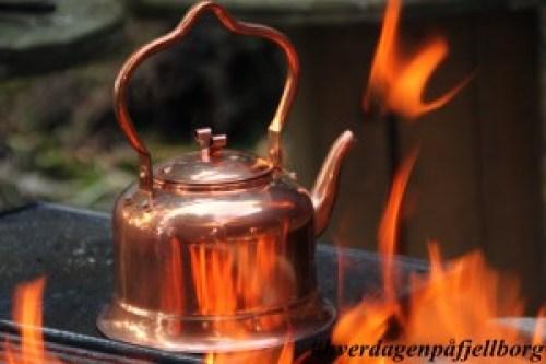 Kaffekjele kobberkjele
