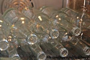 Sterilisering av flasker til safting