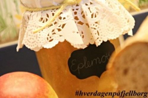 Matauk: Hjemmelaget eplemos