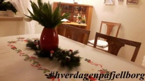 Jul på Fjellborg