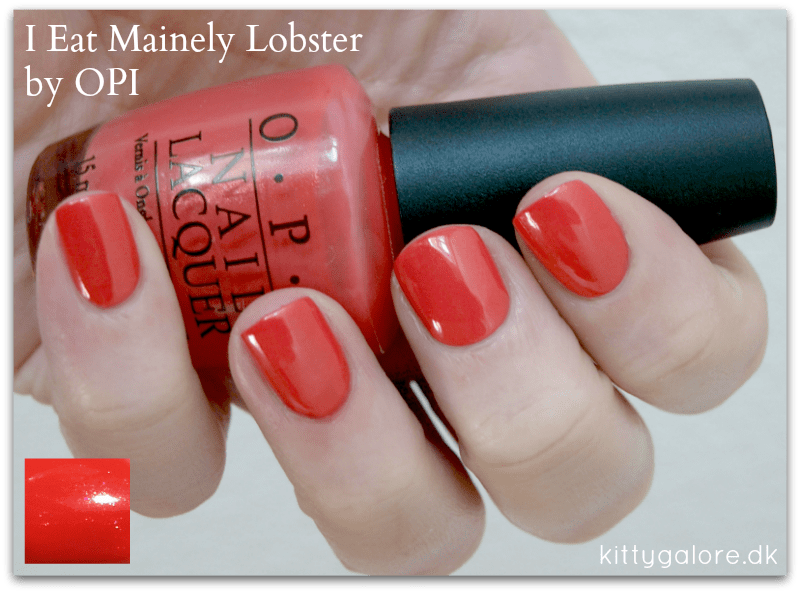 I eat mainely lobster OPI