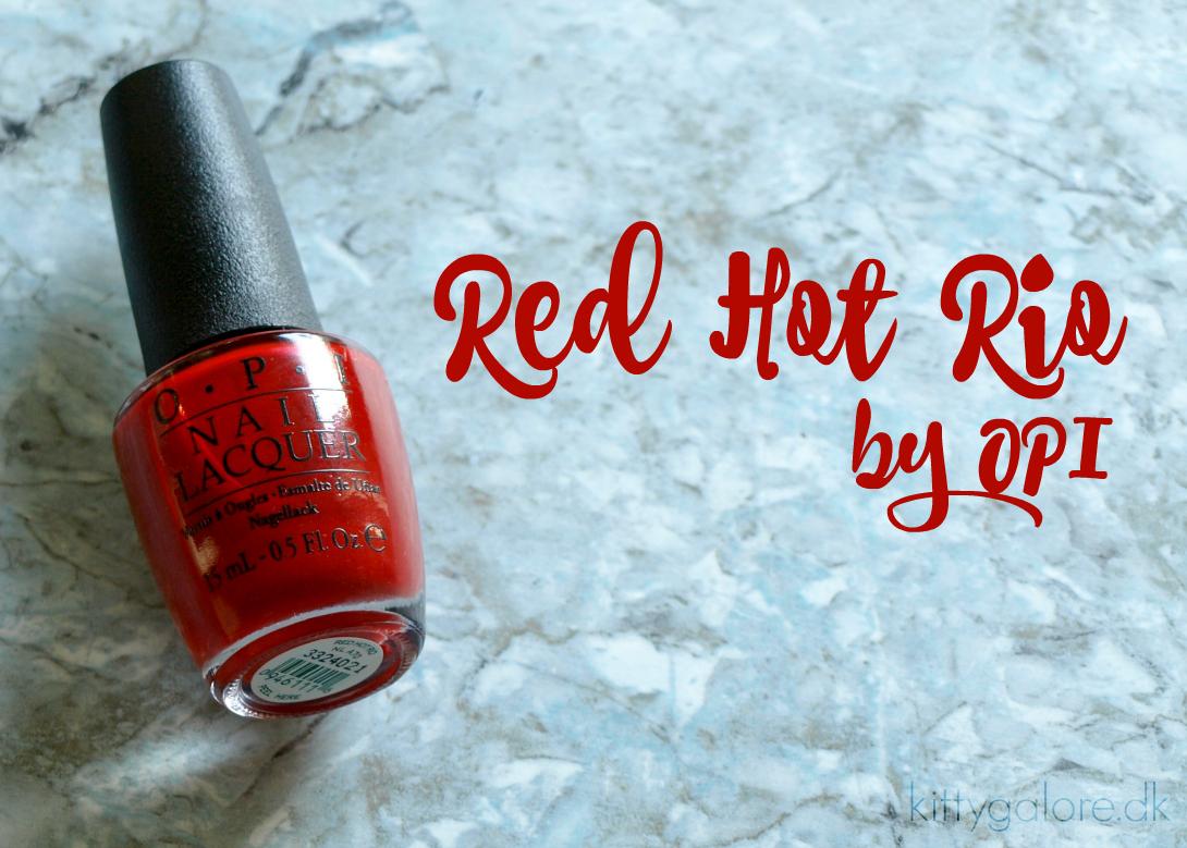 Red Hot Rio – OPI Brazil 2014