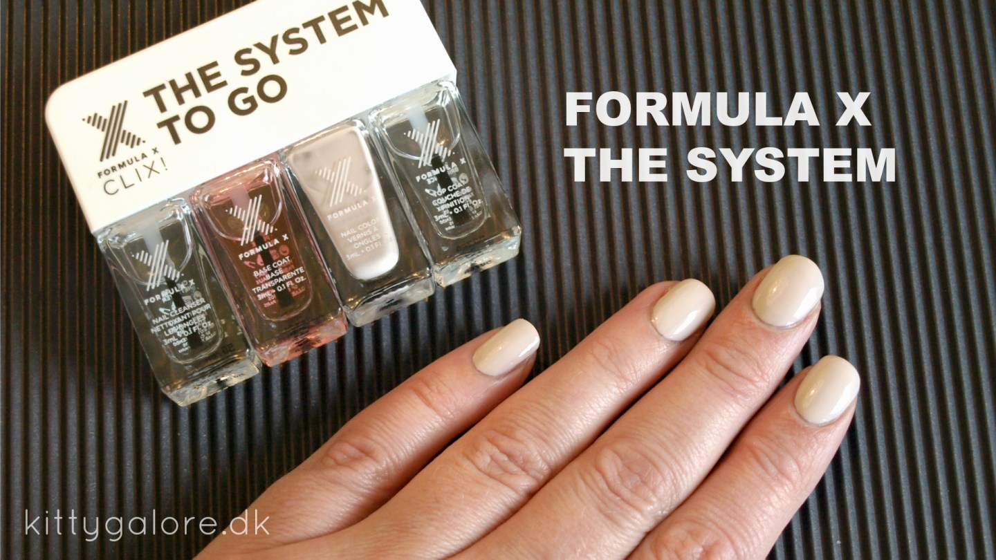 Formula X – The system