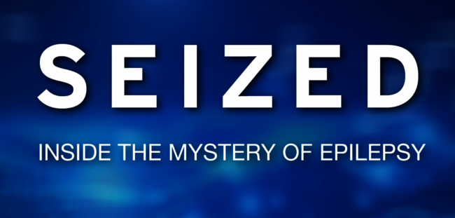 seized inside the mystery of epilepsy logo