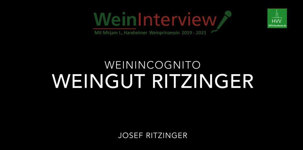 WeinIncognito: Weingut Ritzinger