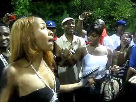 Princess Amp Diamond Of Crime Mob Confrontation At Soulja