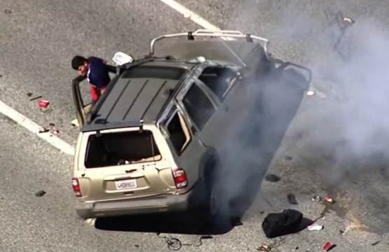 California High-Speed Chase Ends In Dramatic Crash After ...