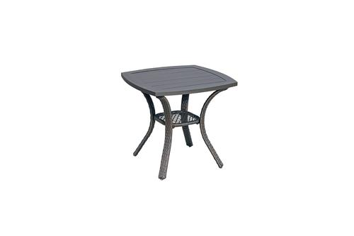 allenwood slat patio end table at