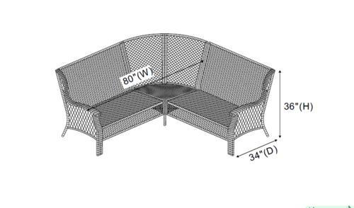 backyard creations allenwood sectional