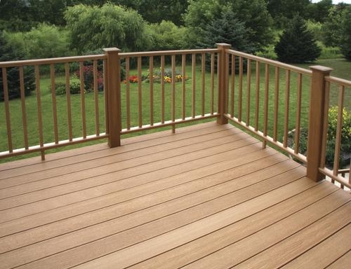 Ultradeck® Rustic™ 6 Composite Rail Section Material List At Menards®   Rustic Banisters And Railings   Industrial   Unusual   Balcony   Custom   Barn Style
