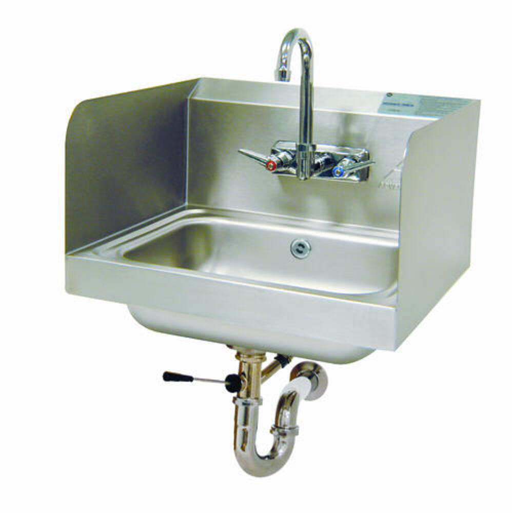 advance tabco wall mount hand wash sink