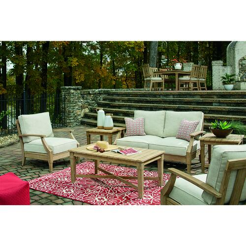 clare view beige 6 piece seating patio