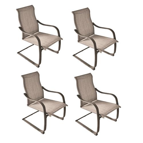 knightdale gray dining patio chair set