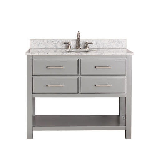 chilled gray bathroom vanity cabinet