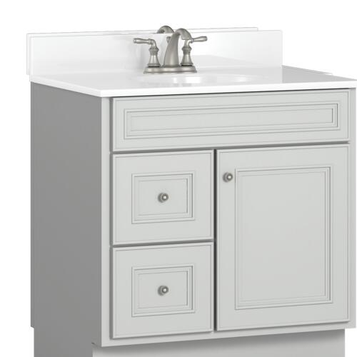 d bathroom vanity cabinet at menards