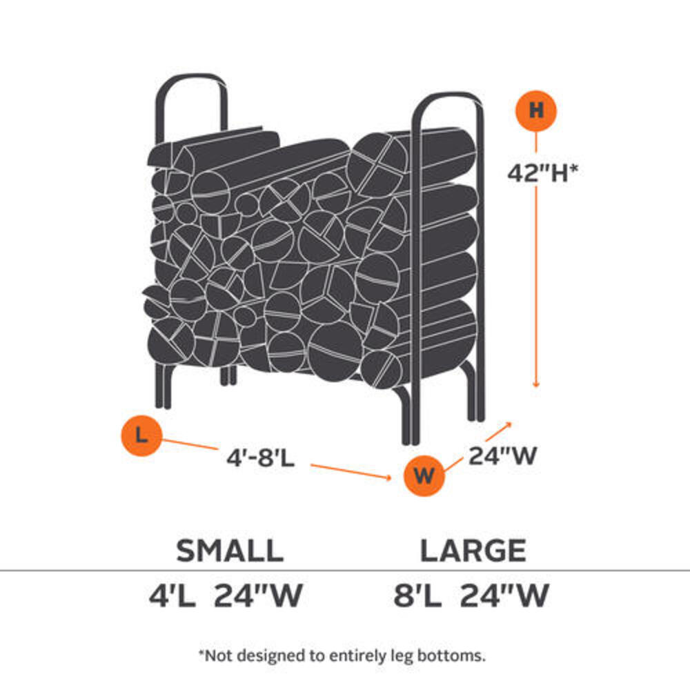 ravenna large log rack cover at menards