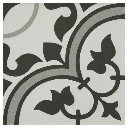 encaustic porcelain floor and wall tile