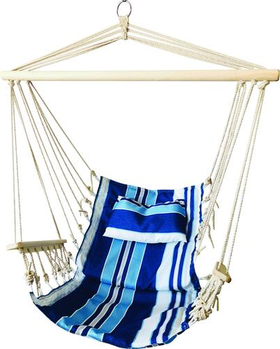 Backyard Creations Polyester Hanging Hammock Chair Assorted Colors At Menards