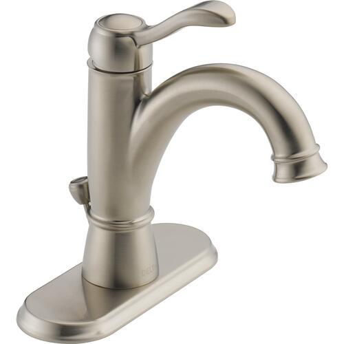one handle 4 centerset bathroom faucet