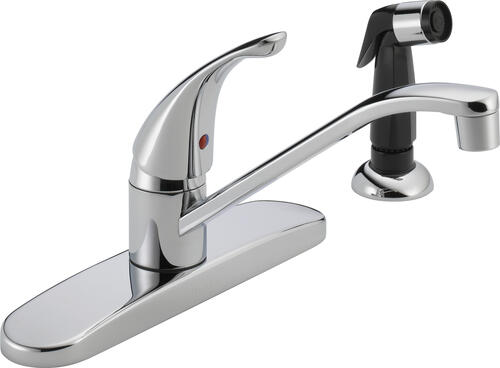 core one handle kitchen faucet at