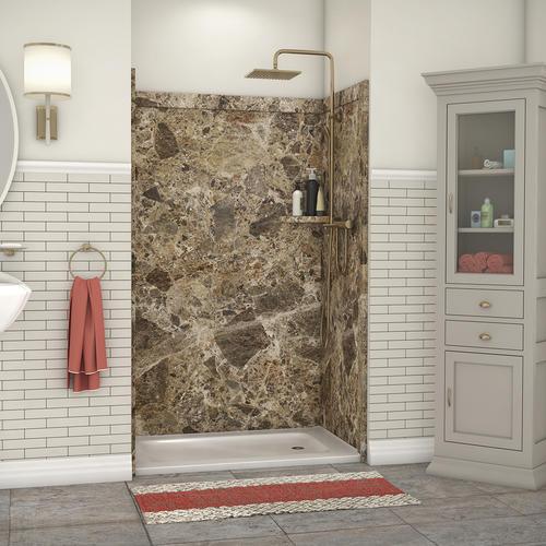 x 36 d x 80 h shower wall surround