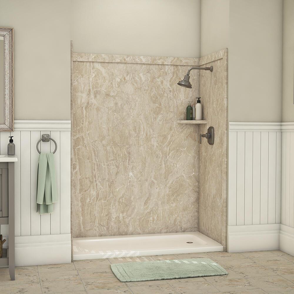 bathtub shower wall surround