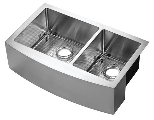 tuscany farmhouse apron front 30 stainless steel offset on farmhouse sink lowest price id=13827