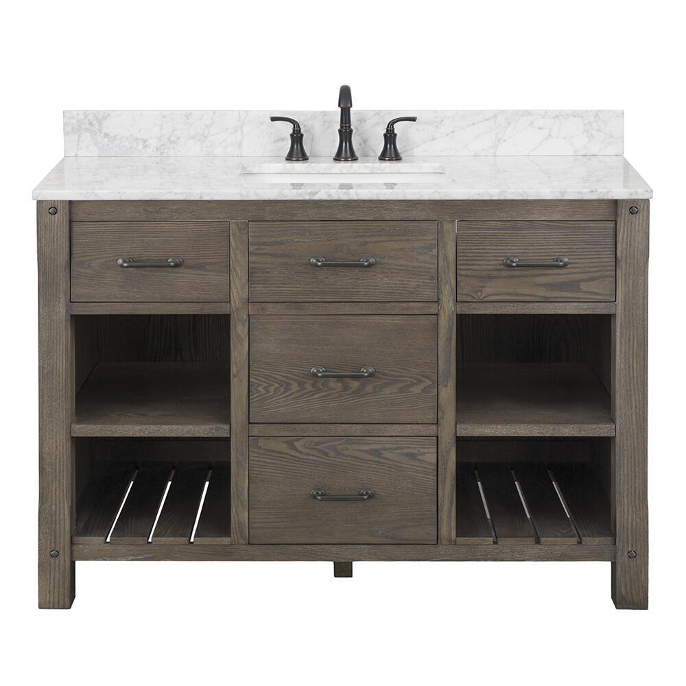 d dark oak bathroom vanity cabinet