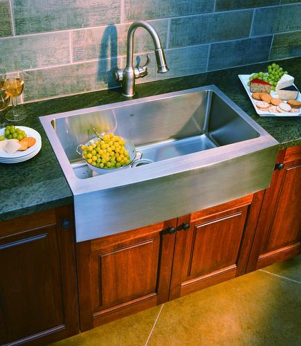 franke farmhouse apron front 33 stainless steel single on farmhouse sink lowest price id=76378