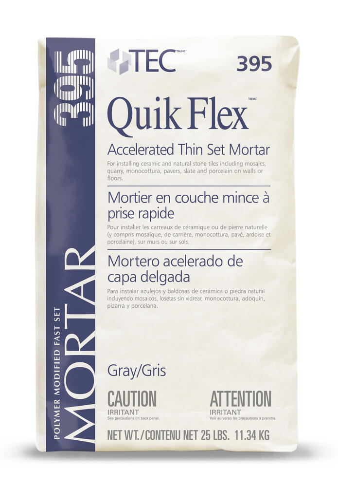 tec quik flex accelerated thin set
